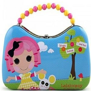 Lalaloopsy Tin Box Carry All Scoop Purse With Bead